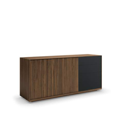 Torelli Buffet With Glass Front Drawers, Mobican