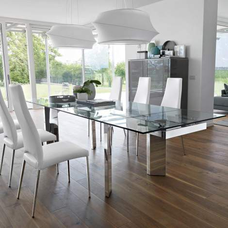 CS/4057-R Tower Dining Table, Calligaris Italy