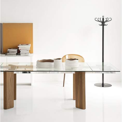 CS/4057-RL Tower Wood Dining Table, Calligaris Italy