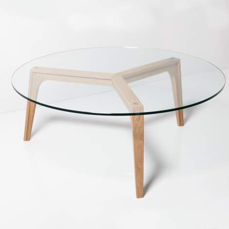 Viva Round Cocktail Table, Mobican