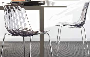 CB/1038 Ice Chair, Connubia by Calligaris Italy